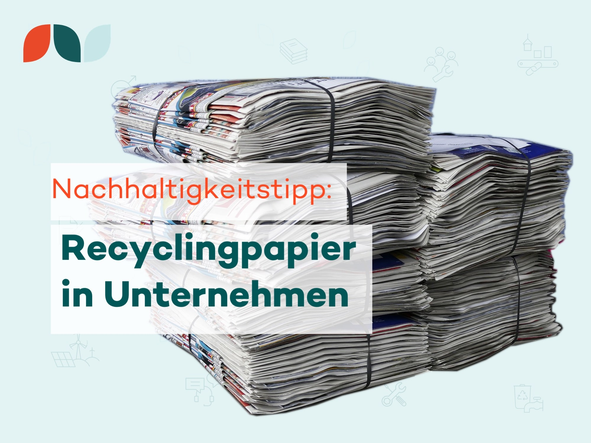 Thumbnail-Nachhaltigkeitstipp Recycling Papier