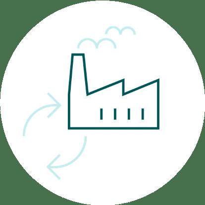 Icon Betriebliches Nachhaltigkeitsmanagement