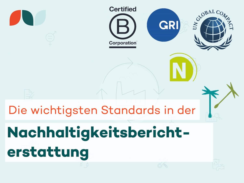 Thumbnail-Die wichtigsten Standards in der Nachhaltigkeitsberichterstattung